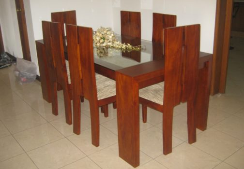 Dining Table - George GT with Timber Bar