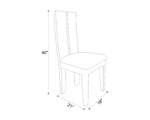 Dining Chair Drawing - Palin