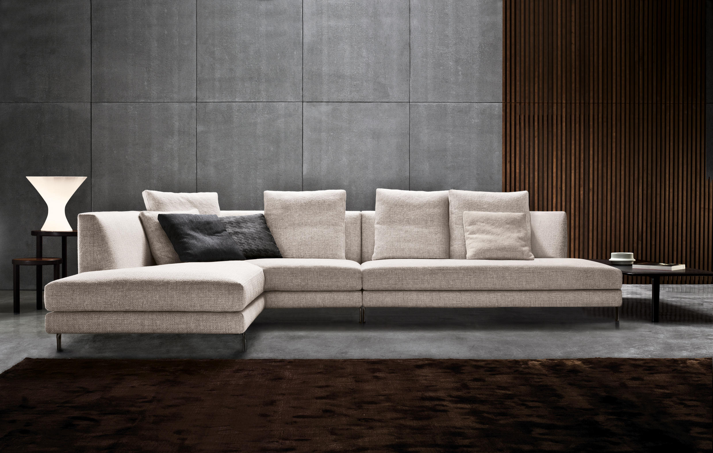 Furniture Plus - L Shape Sofa - Living Room